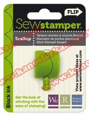 Насадка для  інструменту SewStamper. 'Scallop Stitch Head BK' 71263-3