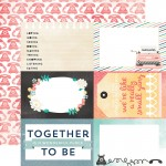 Аркуш картону Together Carta Bella 30x30см CBHA18012