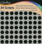 Трафарет пластиковий Color Box Art Screens Hexagons, ClearSnap 85001