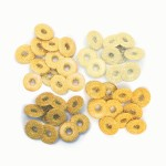 Набір люверсів Wide Eyelets – Shimmer Yellow, 32 шт, d5мм, 41611-1 41611-1
